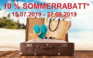 Sommerrabatt 2019